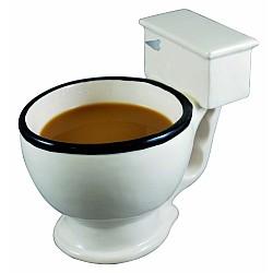 Taza de café con forma de WC
